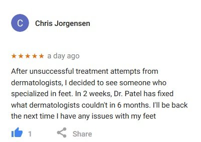 google review Chris