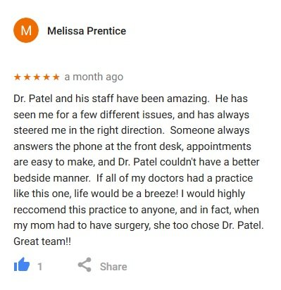 google review melissa
