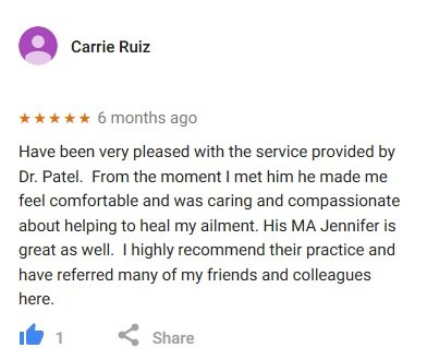 google review carrie