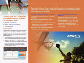 SP117 006 AmnioFix Sports Med Physician Brochure 2