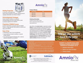 SP117 006 AmnioFix Sports Med Physician Brochure 1